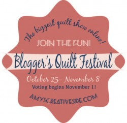 Amy's Creative Side Blogger's Quilt Festival Button