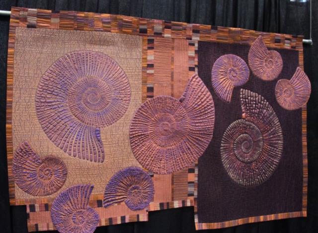 """Kimberly Lacy - Ammonites 44""""x65"""""""