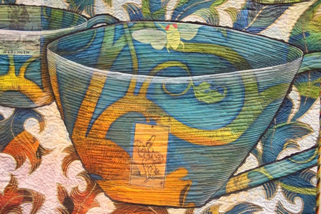 Judy Coates Perez - 8 of Cups Detail