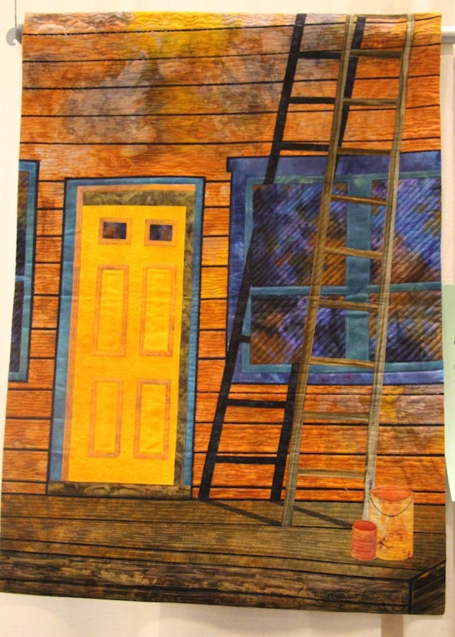 """Gloria Loughman - Old Town - Yellowknife 30""""x36"""""""