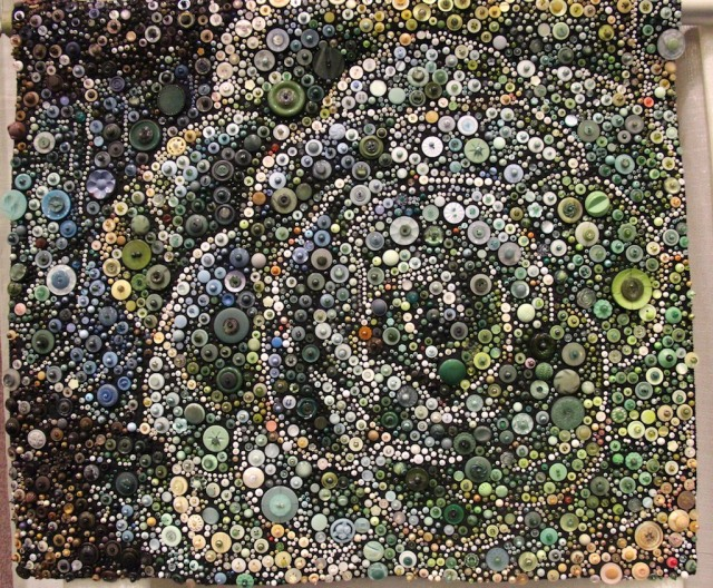 "Susan Bianchi - Stonecrop Tapestry 27""x31"""