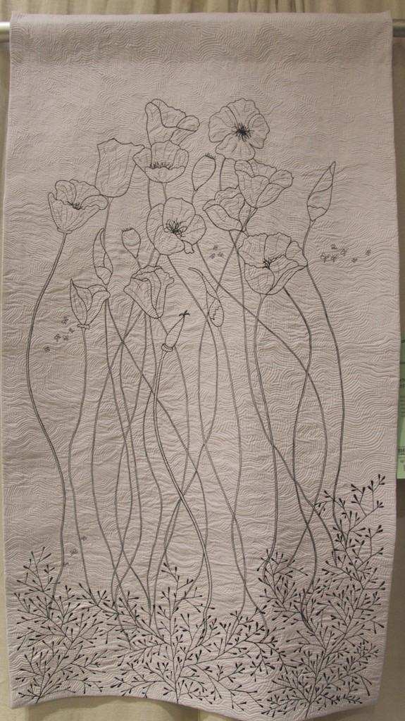 "Jenny K Lyon - Poppies 55""x31"""