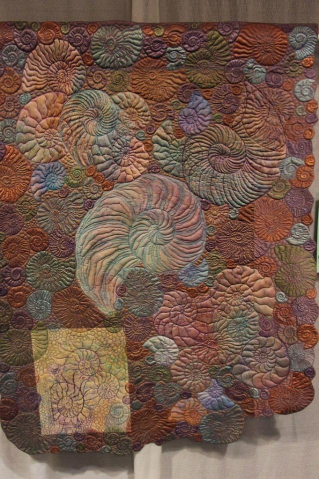 "Kimberly Lacy - Ammonite Garden II 56""x41"""