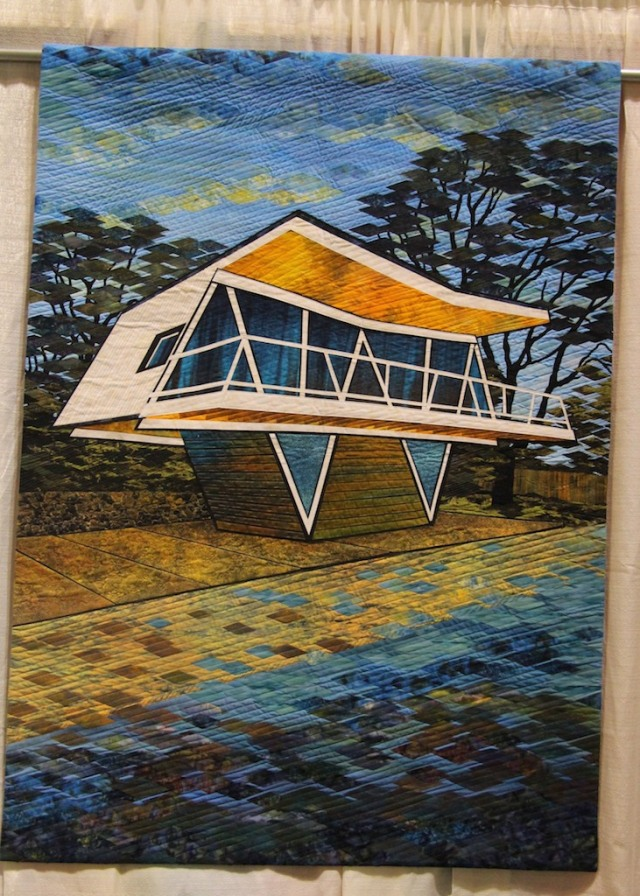 "Gloria Loughman - The Butterfly House - Dromana 36""x66"""