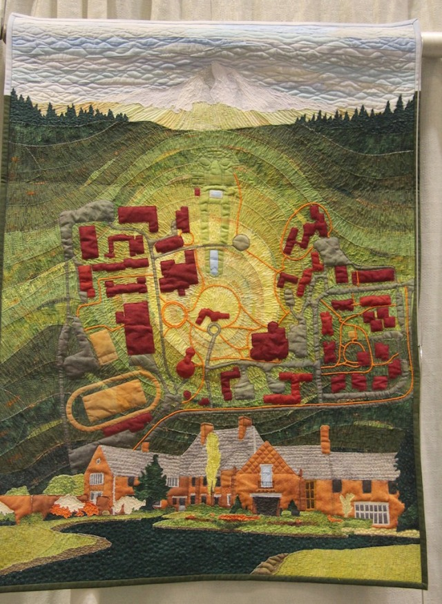 "Randa Mulford - On Campus: Lewis and Clark College 33""x25"""