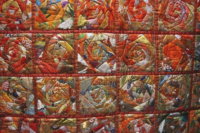 """Matsuko Shiraishi - Miyabi 105""""x88"""" Detail"""