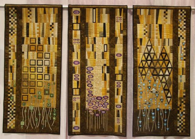 """Penny S. Hanscom - Klimt in Jewel Tones 44""""x62"""""""